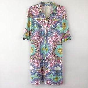 J McLaughlin Shift Dress Size Medium ( A498)